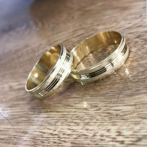 Oro amarillo Diamantadas - 18K