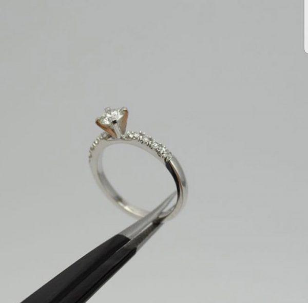 Oro blanco diamantes - 18K (3)