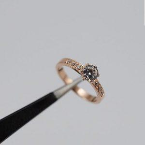 Oro rosado diamante - 18K